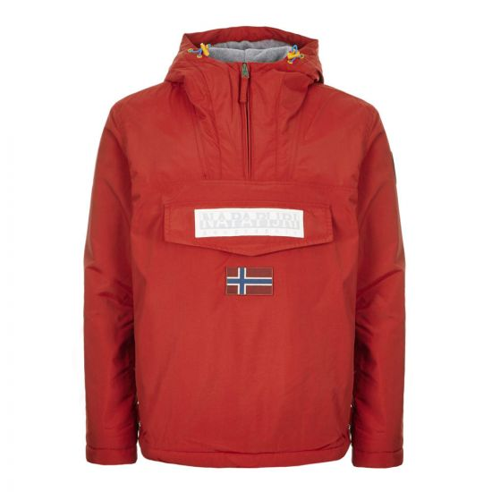 Napapijri Jacket Rainforest 2.0 NA4ECP R01 RED SCARLET