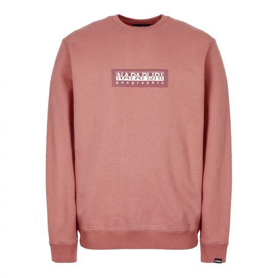 Napapijri Sweatshirt NP000KBU P81 Pink