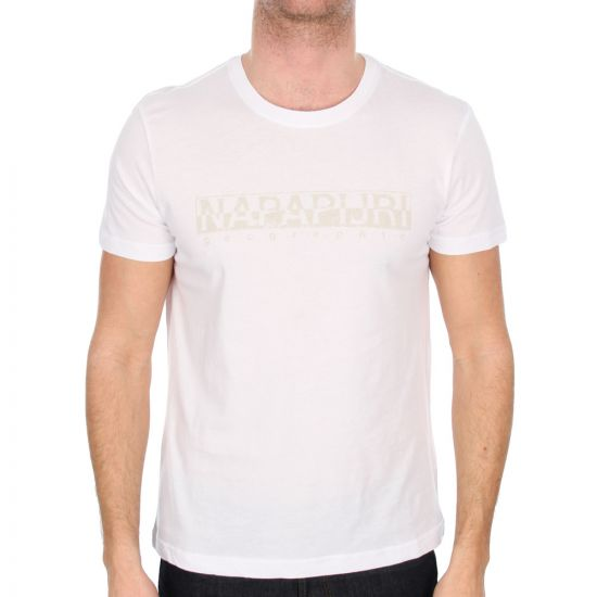 Napapijri White Sapriol T-Shirt