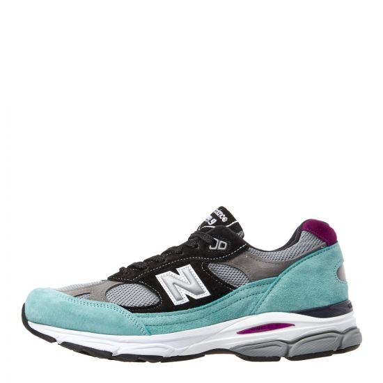New Balance 991.9 Trainers M9919EC Green/Purple