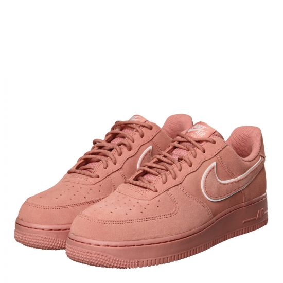 Nike Air Force 1 '07 Suede AA1117 601 Red Stardust
