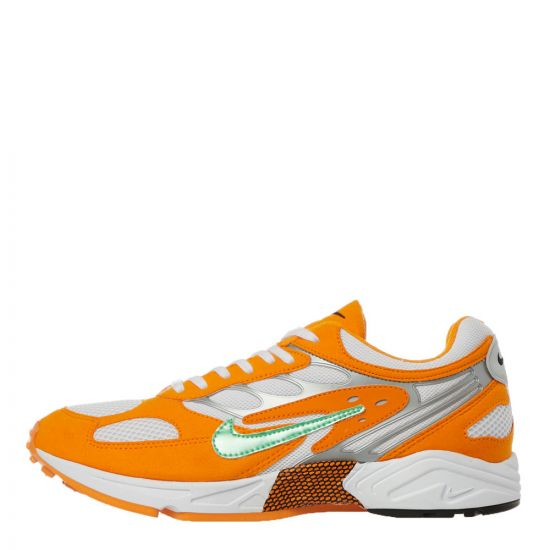 Nike Air Ghost Racer Trainers | AT5410 800 Orange / Green
