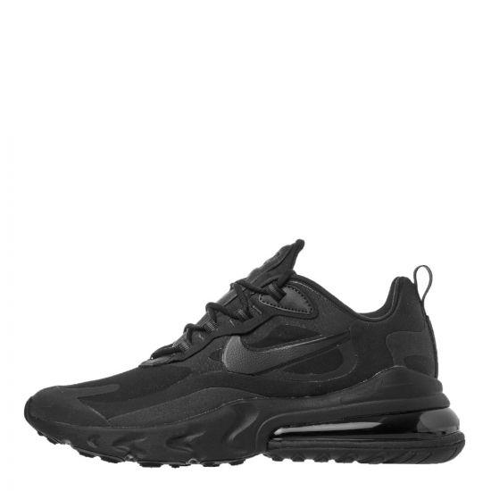 Nike Air Max 270 React Trainers | CI3866 003 Black