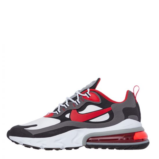 Nike Air Max 270 React Trainers - Red / White / Black  21629CP -1