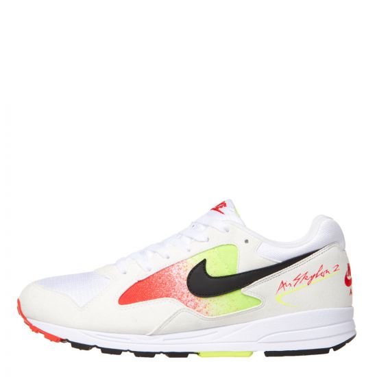 Nike Air Skylon II AO1551 105 In White / Black / Yellow / Orange