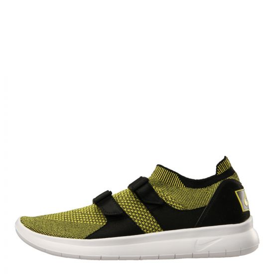Nike Air Sock Racer Ultra Flyknit 898022-700 Yellow Strike