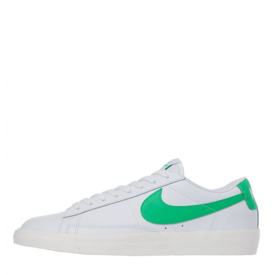 Nike Blazer Low CI6377 105 White Green Aphrodite