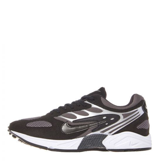 Nike Air Ghost Racer Trainers AT5410 002 in Black / Silver