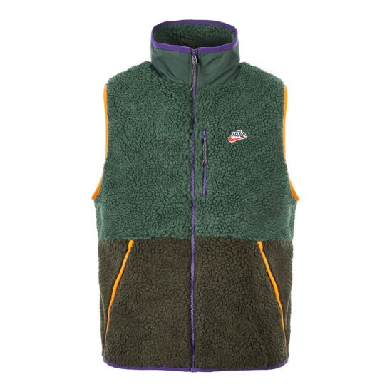 Nike Fleece Gilet | CD3142 337 Green