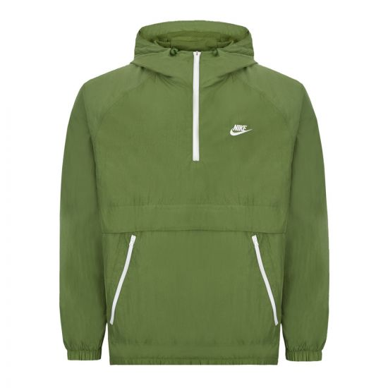Nike Pullover Jacket - Green  21672CP 0
