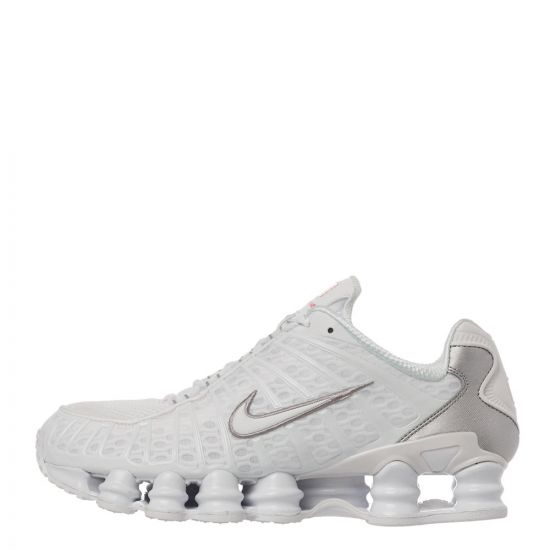 Nike Shox TL Trainers - White 21436CP -1
