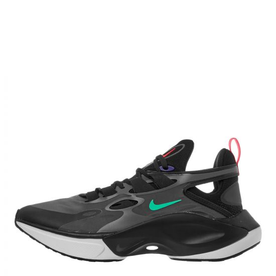 nike signal d/ms/x trainers AT5303 005 black