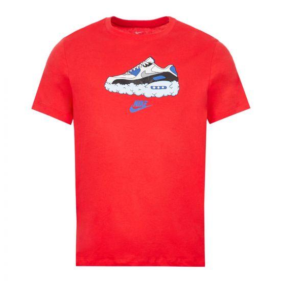 Nike T-Shirt – Red 21443CP -1