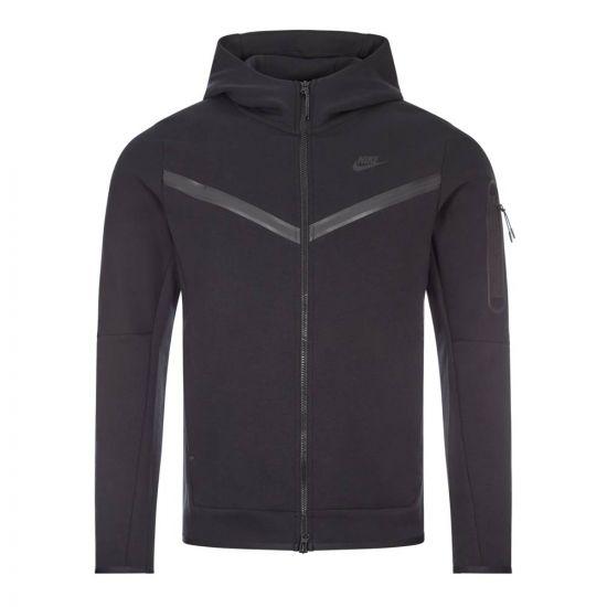 Nike Sportswear Tech Fleece Hoodie | CU4489 010 Black