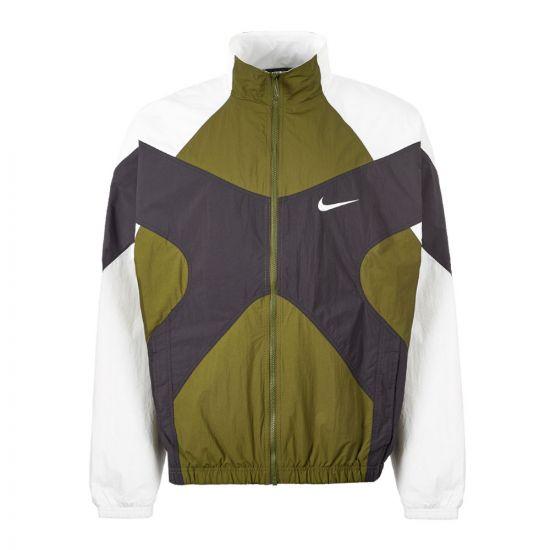 Nike Sports Jacket | BV5210 331 Green / White / Black