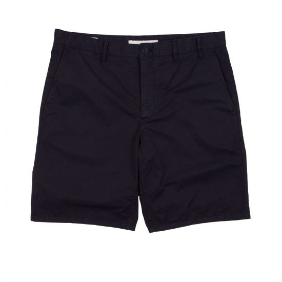 Norse Projects Aros Light Chino Shorts N35 0237 7004 Navy