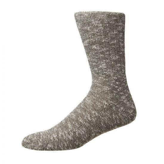 Norse Projects Ebbe Melange Socks   N82 0003 8098 Green