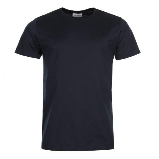 Norse Projects Esben  T Shirt Mercerised T-Shirt N01 0375 7004 Dark Navy