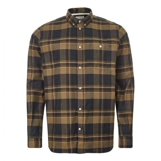Norse Projects Shirt Anton | N40 0504 8098 Ivy Green / Brown