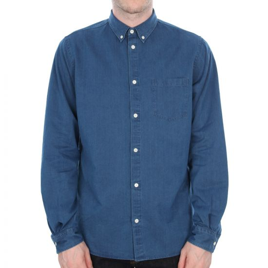 Anton Denim Shirt - Bleached