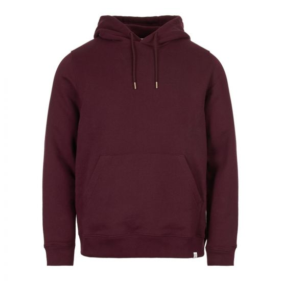 norse projects hoodie N20 0262 6014 purple