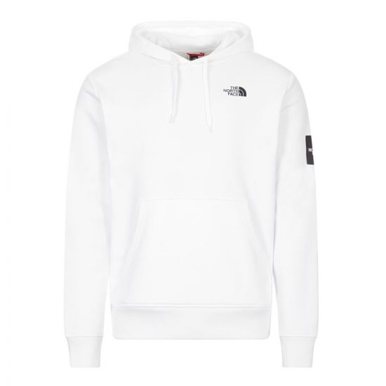 North Face Hoodie   NF0A557HFN4 White   Aphrodite