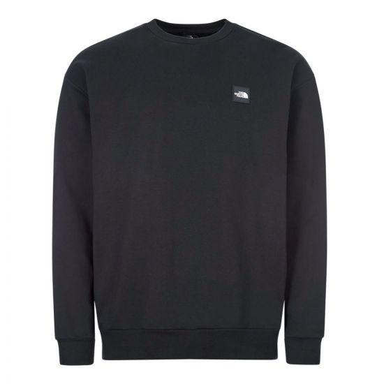 The North Face Sweatshirt Crew Neck | NF0A4C9JJK3 Black | Ahprodite1994