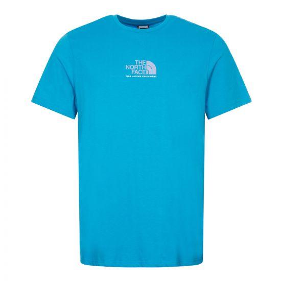 North Face T-Shirt, NF0A4SZUD7R Blue, Aphrodite 1994