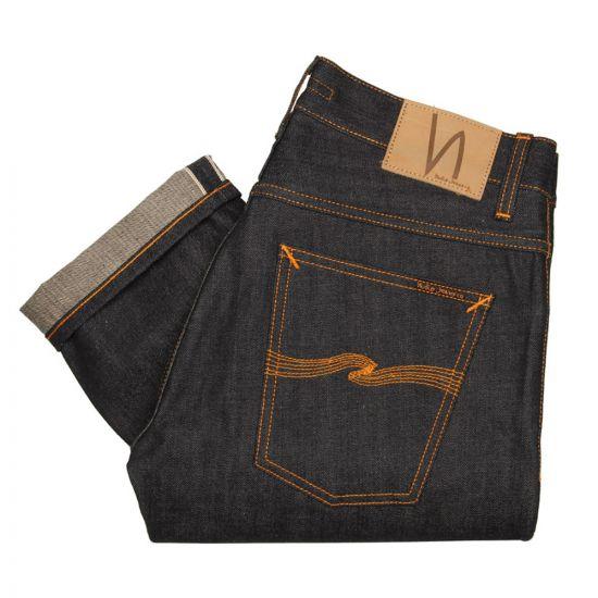 nudie grim tim jeans navy 111205