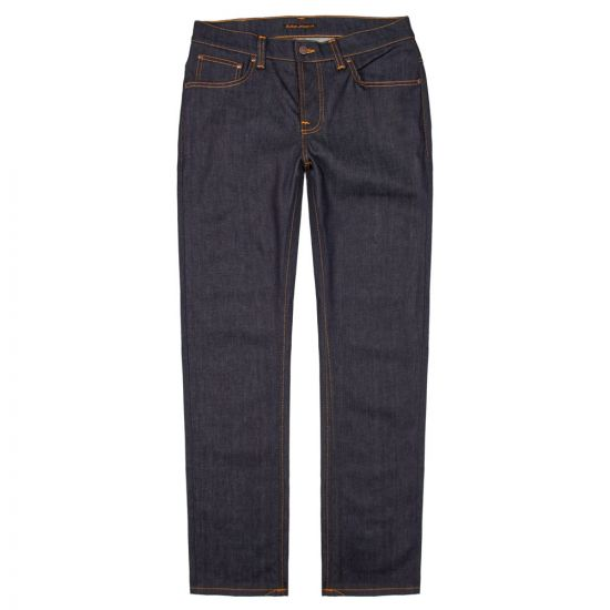 Nudie Jeans Grim Tim Dry in Open Navy 112223