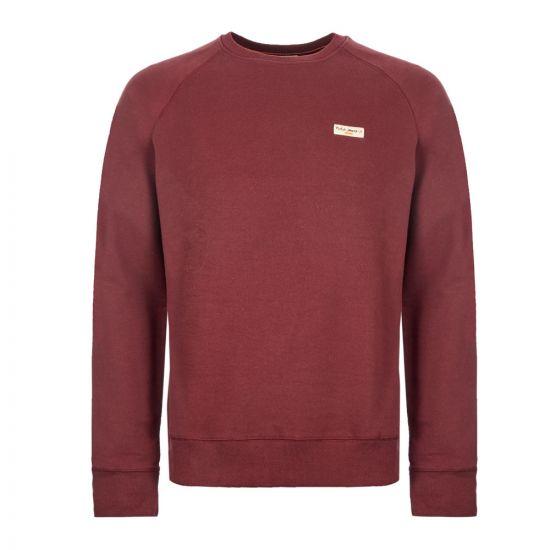 Nudie Jeans Sweatshirt - Burgundy 21047CP -1