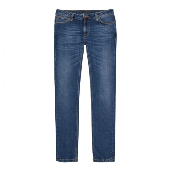 nudie jeans skinny lin 112865 indigo