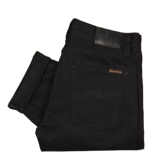 nudie jeans steady eddie black 111490