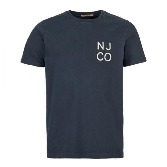 Nudie Jeans T-Shirt | 131633 NAVY