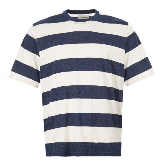 Oliver Spencer T-Shirt Box - Navy 21951CP -1