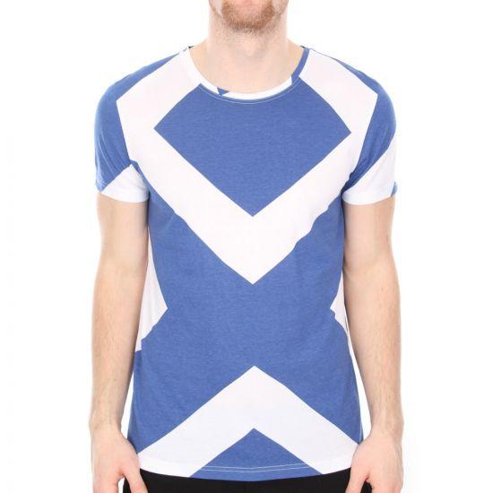 T Shirt - True Blue Diamond