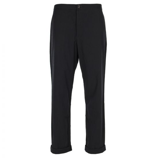Oliver Spencer Drawstring Trousers Portman in Navy