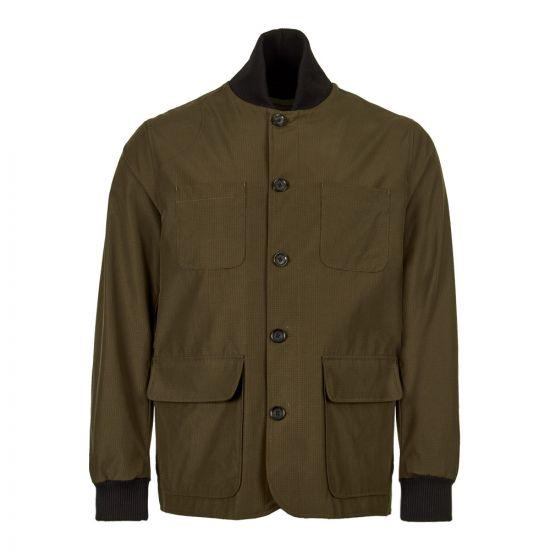 Oliver Spencer Berwick Jacket OSMJ302B RAIO1GRN In Olive