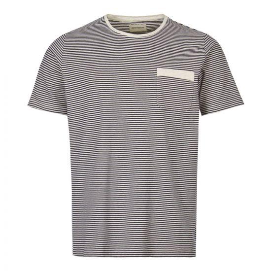 Oliver Spencer Envelope Pocket T-Shirt OSMK461A|DAN01|NAV In Navy