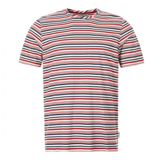 Oliver Spencer T-Shirt Conduit - Red 21950CP -1