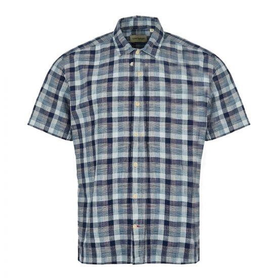 Oliver Spencer Short Sleeve Shirt | OSMS102 OTT01 BLU Blue