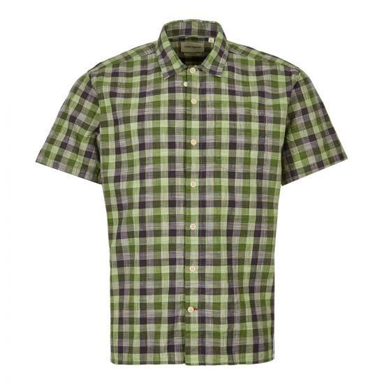 Oliver Spencer Short Sleeve Shirt | OSMS102 OTT01 GRN Green