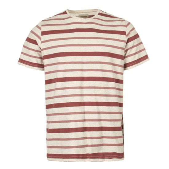Oliver Spencer T-Shirt OSMK580 CAR01PIN in Pink