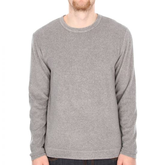 Our Legacy Longsleeve Towelling Tee in Washed Light Grey