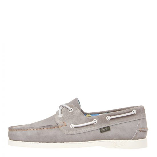 Paraboot Barth Boat Shoe 780517 Grey Suede