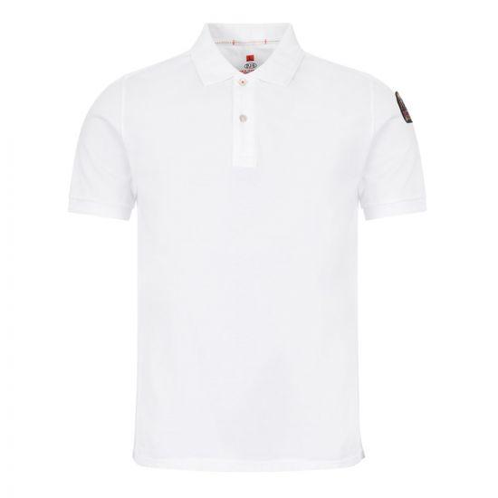 parajumpers polo shirt | PO01 501 white