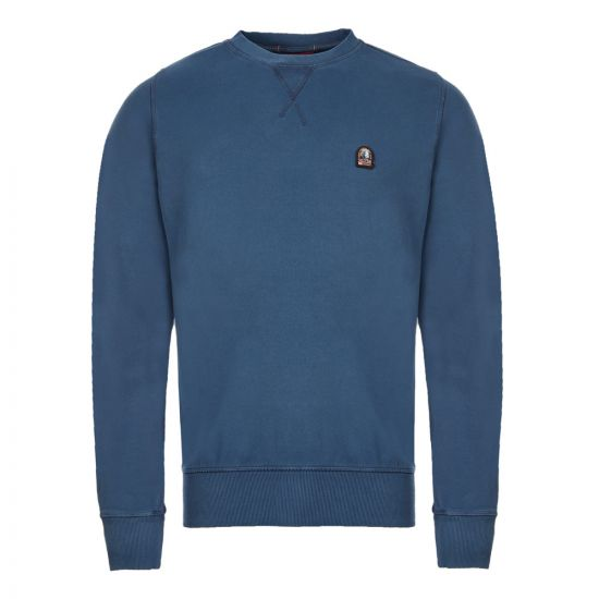 Parajumpers Sweatshirt Caleb  - Blue  21459CP -1