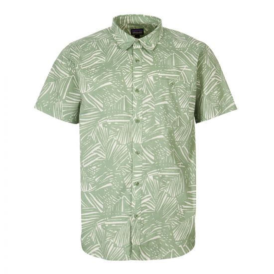 Patagonia Short Sleeve Shirt 52691 RFMG Green