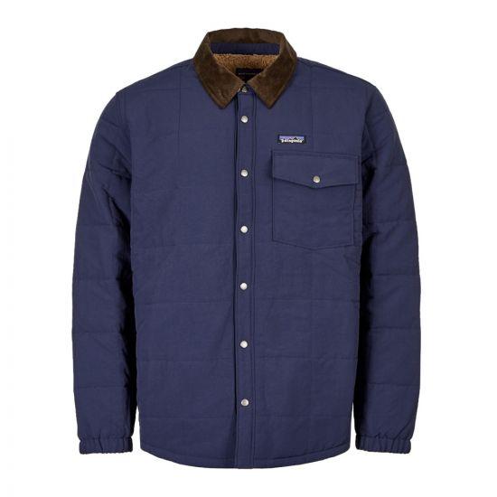 Isthmus Shirt Jacket – Navy