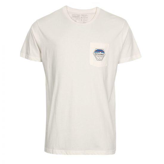 Patagonia Pocket T-Shirt | White 39157-WHT